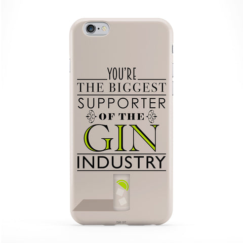 Supporter Of Gin Phone Case by BJE Art