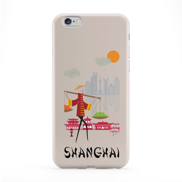 Shanghai Phone Case by BJE Art