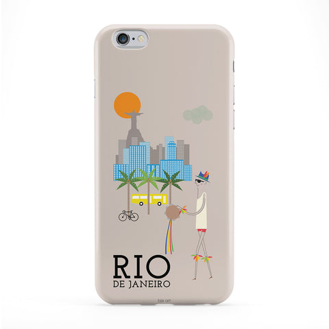 Rio Phone Case by BJE Art