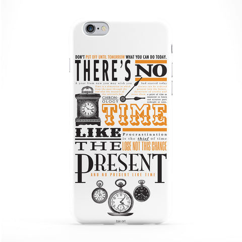 No Time Like The Present Phone Case by BJE Art