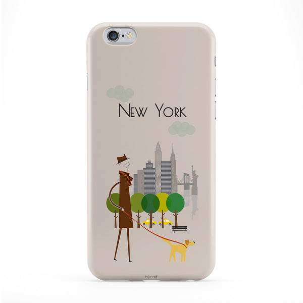 New York Phone Case by BJE Art