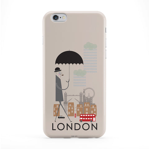 London Case for iPhone 6 by BJE Art