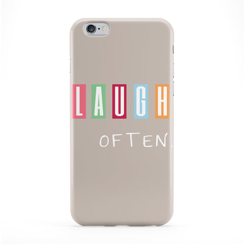 Laugh Often Phone Case by BJE Art
