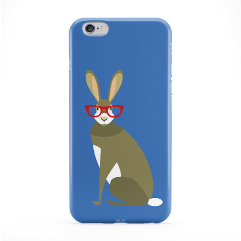 Inteligent Hare Phone Case by BJE Art