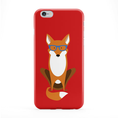 Inteligent Fox Phone Case by BJE Art