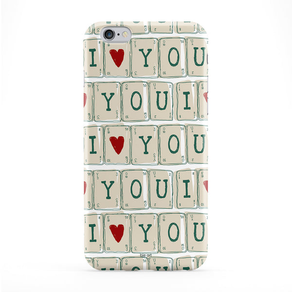 I Heart You Phone Case by BJE Art