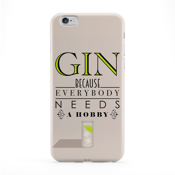 Gin Hobby Phone Case by BJE Art