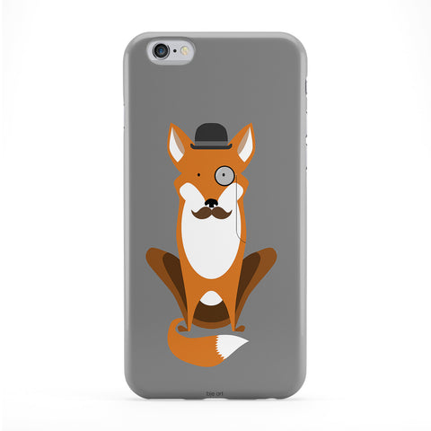Foxy Gent Phone Case by BJE Art