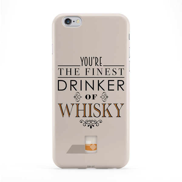 Finest Drinker Of Whisky Phone Case by BJE Art