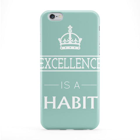 Excellence Is A Habit Phone Case by BJE Art