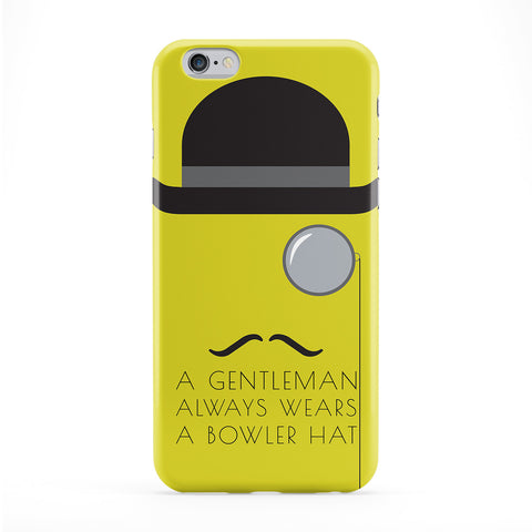 Bowler Hat Phone Case by BJE Art