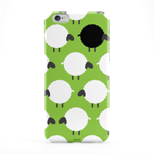 Black Sheep Phone Case by BJE Art