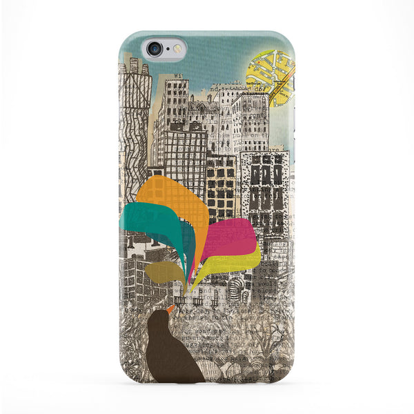 Birdsong In The City Phone Case by BJE Art