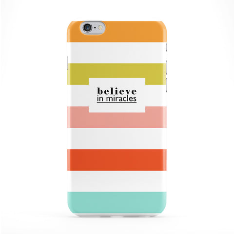 Believe In Miracles Phone Case by BJE Art