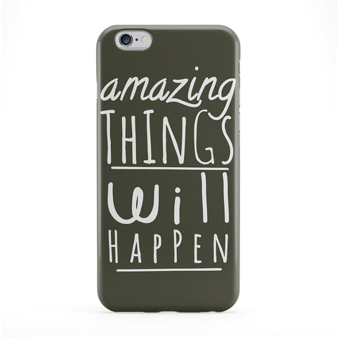 Amazing Things Will Happen Phone Case by BJE Art