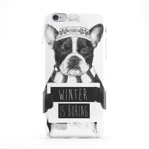Winter is Boring Full Wrap Protective Phone Case by Balazs Solti