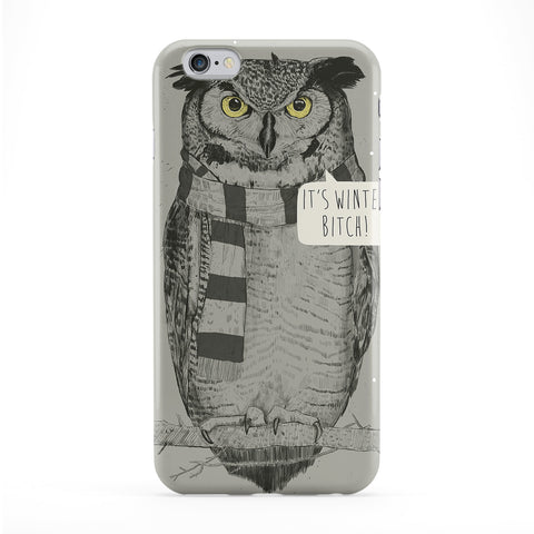 It's Winter Bitch Full Wrap Protective Phone Case by Balazs Solti