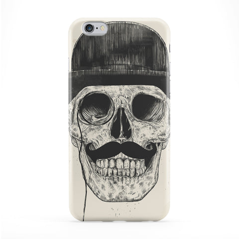 Gentlemen Never Die Full Wrap Protective Phone Case by Balazs Solti