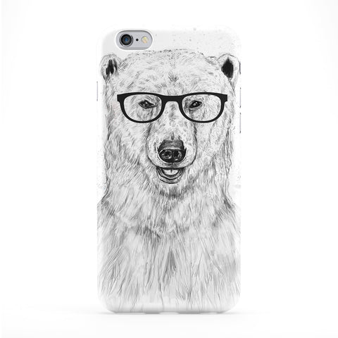 Geek Bear Full Wrap Protective Phone Case by Balazs Solti