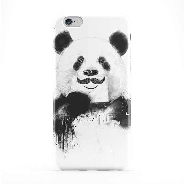 Funny Panda Phone Case by Balazs Solti