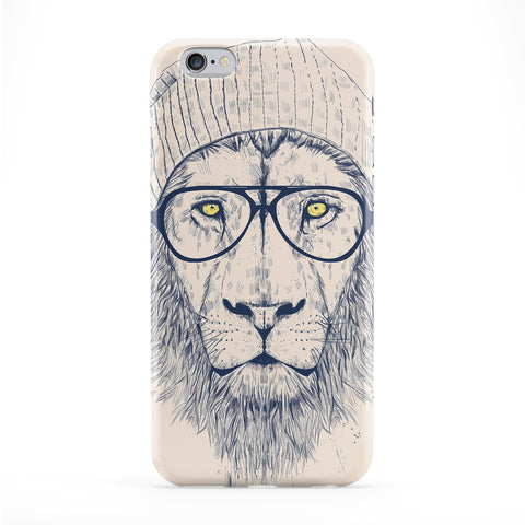 Cool Lion Full Wrap Protective Phone Case by Balazs Solti