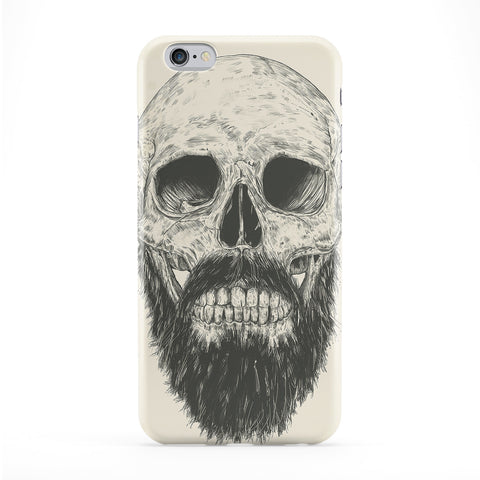 Beard is Not Dead Full Wrap Protective Phone Case by Balazs Solti