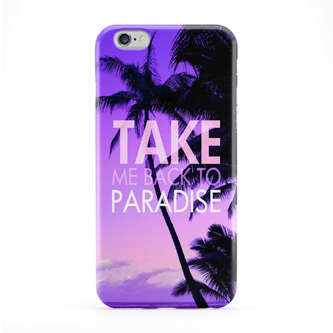 Take Me Back To Paradise Phone Case by BYMBOW