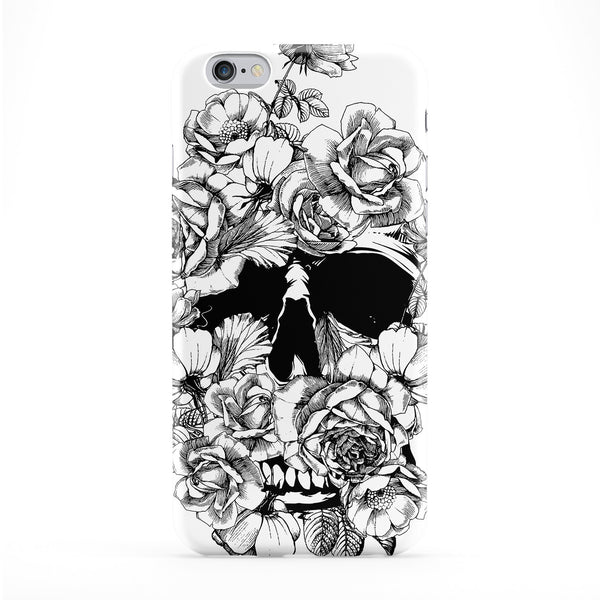Skull Roses Phone Case by BYMBOW