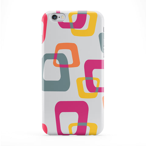 Retro Squares Phone Case by BYMBOW