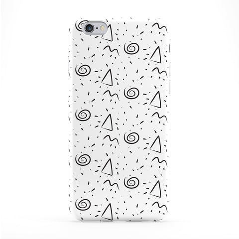 Retro Pattern 01 Full Wrap Protective Phone Case by BYMBOW