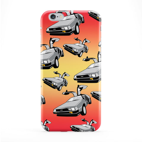 Retro Movie Car Full Wrap Protective Phone Case by BYMBOW