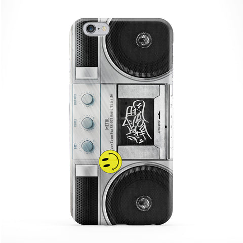 Retro Boombox 01 Full Wrap Protective Phone Case by BYMBOW