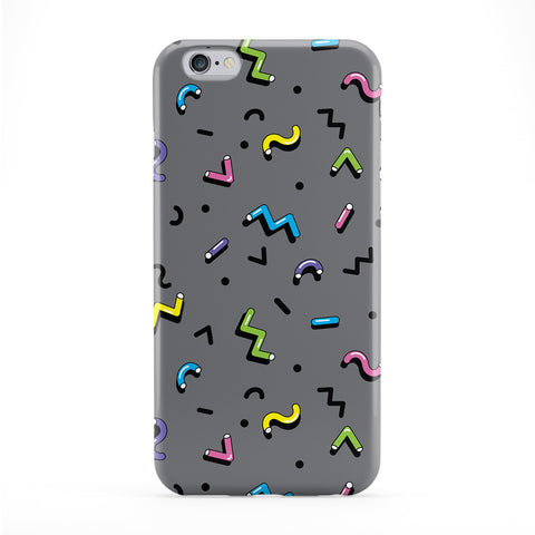 Retro 80s Pattern 03 Full Wrap Protective Phone Case by BYMBOW