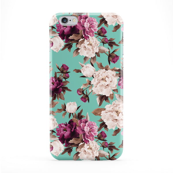 Purple And Cream Flowers Phone Case by BYMBOW