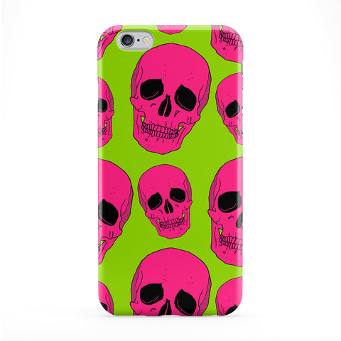 Pink Skull Pattern Phone Case by BYMBOW