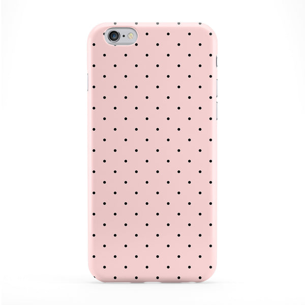 Pink Black Spots Phone Case by BYMBOW
