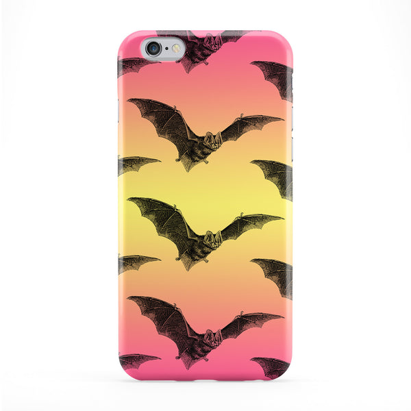 Pink Bat Pattern Phone Case by BYMBOW