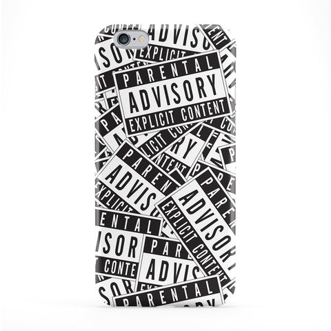 Parental Advisory Phone Case by BYMBOW