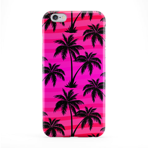 Palm Trees Pink Phone Case by BYMBOW
