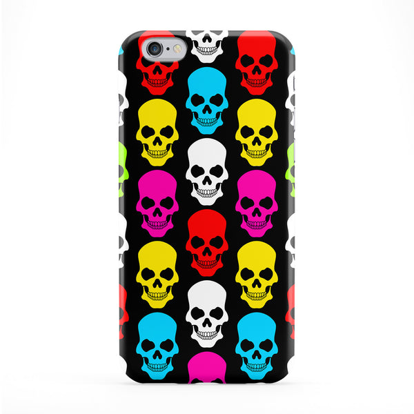 Multicoloured Skulls Phone Case by BYMBOW