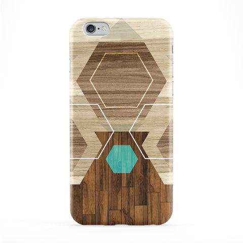 Modern Wood Pattern 12 Phone Case by BYMBOW