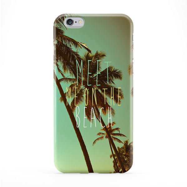 Meet On The Beach Full Wrap Protective Phone Case by BYMBOW