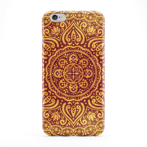 Mandala Pattern 02 Full Wrap Protective Phone Case by BYMBOW