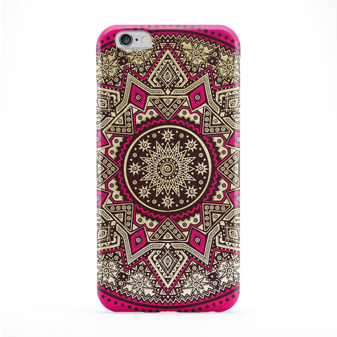 Mandala Pattern 01 Full Wrap Protective Phone Case by BYMBOW