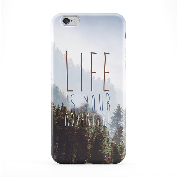 Life Is Your Adventure Full Wrap Protective Phone Case by BYMBOW