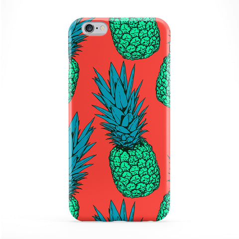 Green Pineapples Phone Case by BYMBOW