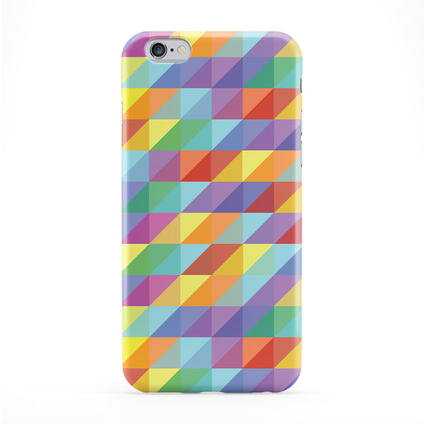 Geometric Pattern 02 Full Wrap Protective Phone Case by BYMBOW