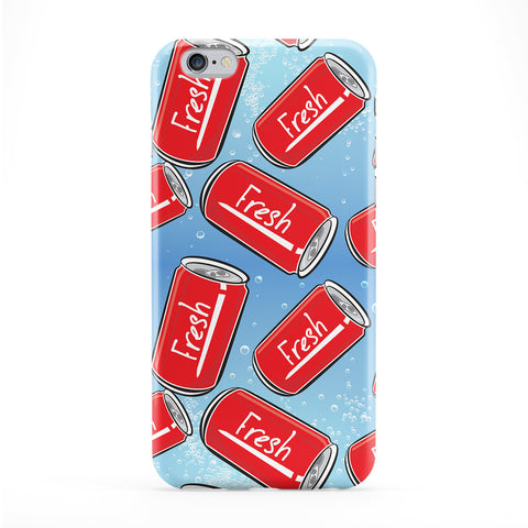 Fresh Cola Full Wrap Protective Phone Case by BYMBOW