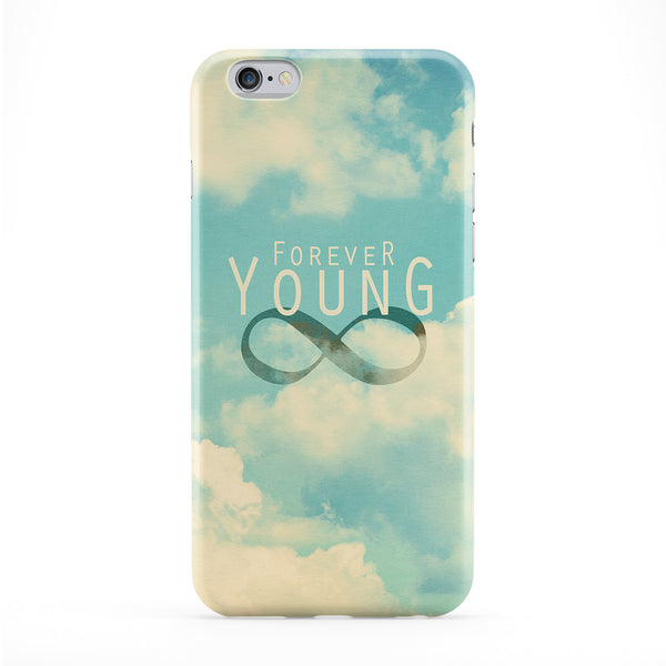 Forever Young Full Wrap Protective Phone Case by BYMBOW