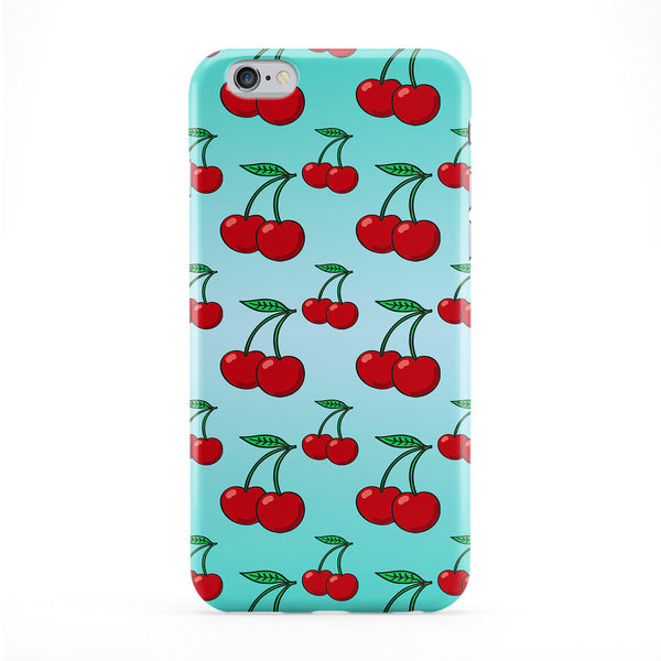 Cherry Pattern Full Wrap Protective Phone Case by BYMBOW